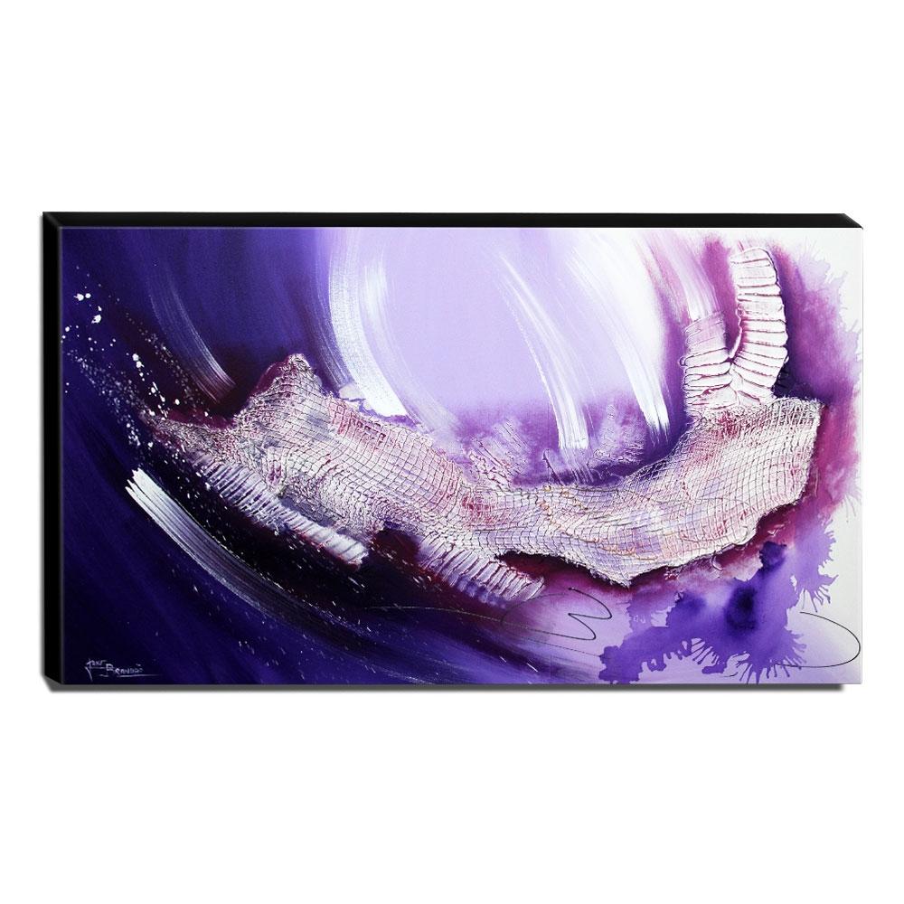 Quadro Decorativo Canvas Abstrato 60x105cm-QA-103