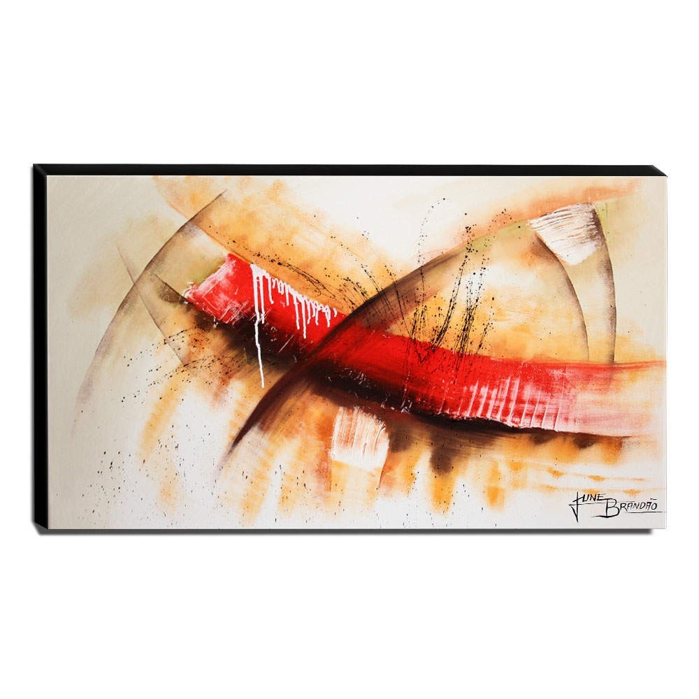 Quadro Decorativo Canvas Abstrato 60x105cm-QA-23