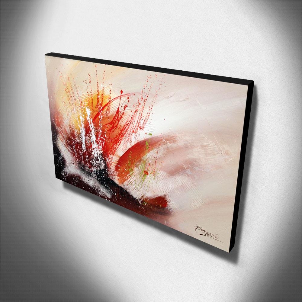 Quadro Decorativo Canvas Abstrato 60x105cm-QA-49