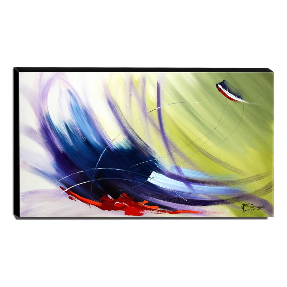Quadro Decorativo Canvas Abstrato 60x105cm-QA-63