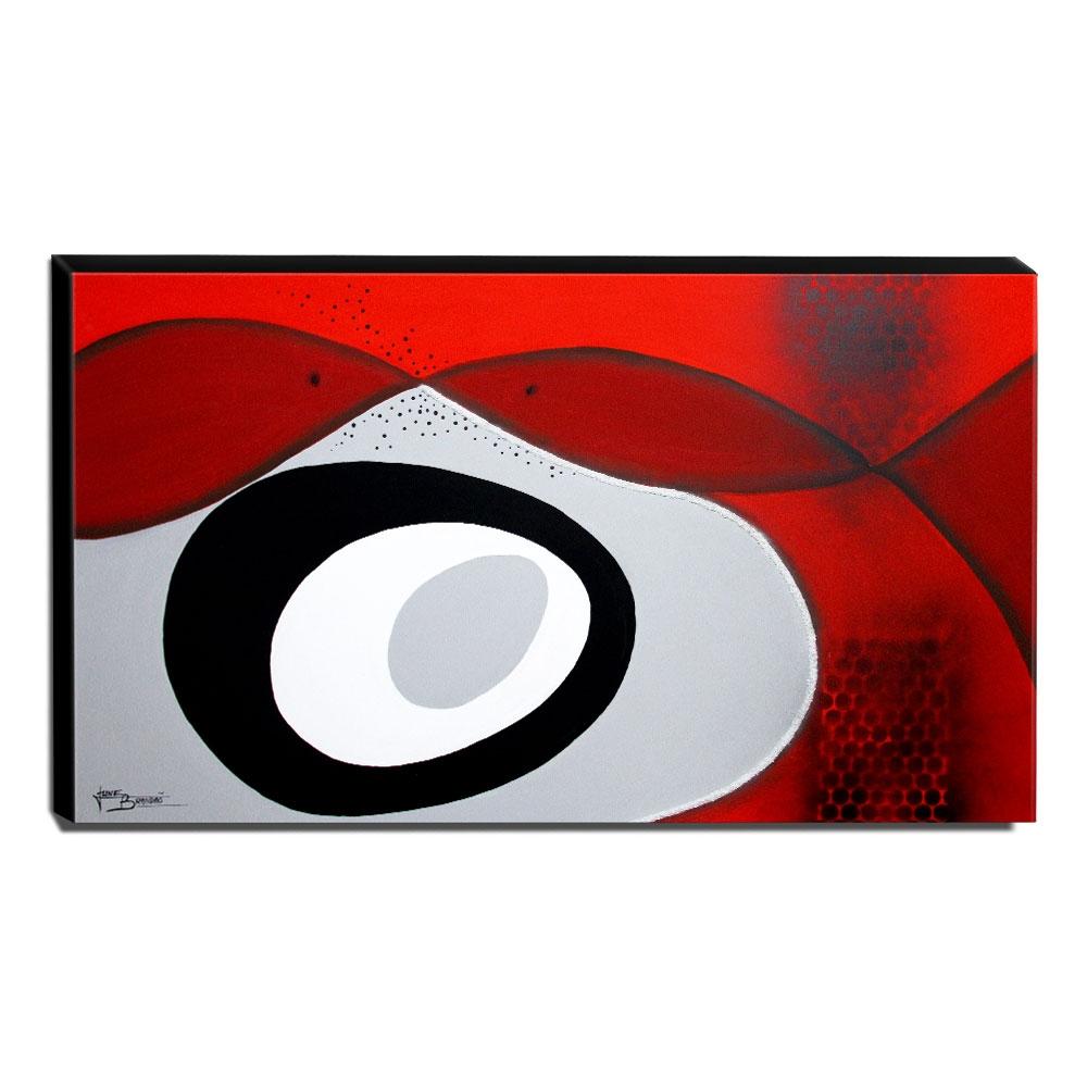 Quadro Decorativo Canvas Abstrato 60x105cm-QA-86