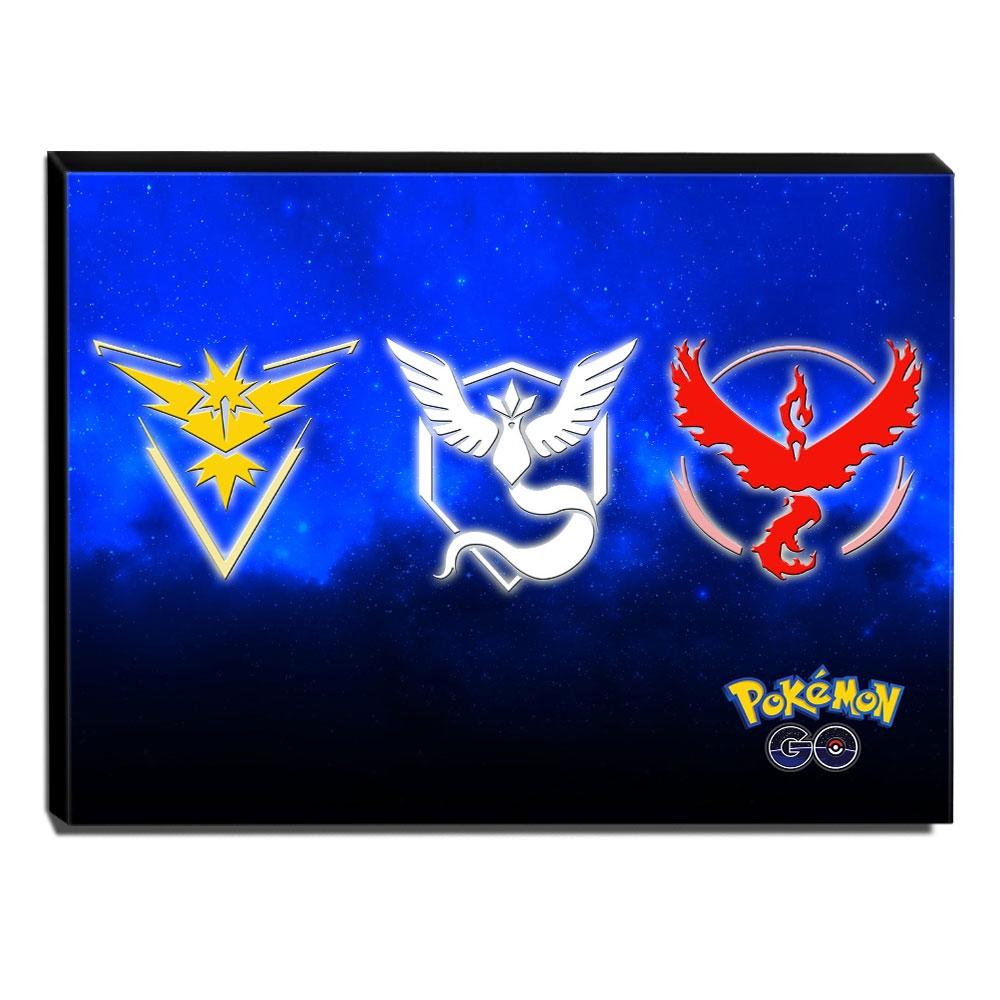 Quadro Pokémon GO Canvas 30x40cm-INF04