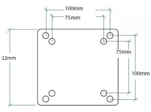 Kit 5 Adaptador Vesa 75mm Para 100mm De Monitores E Tv