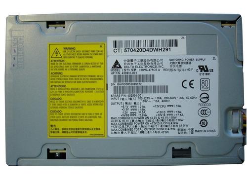 Fonte Atx Hp Workstation Xw4600 Xw4400 P/n 450937-001