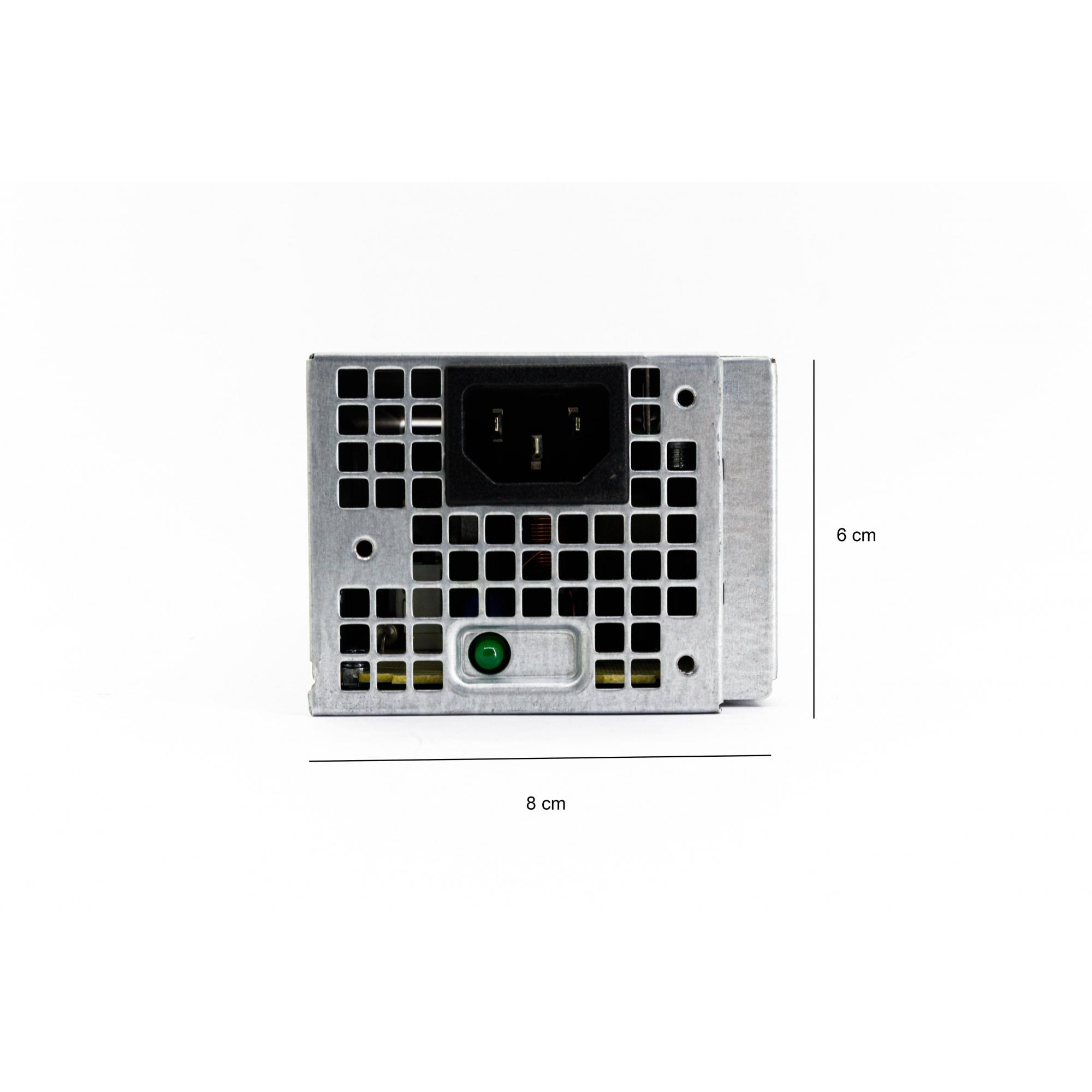 Fonte P/ Dell Inspiron 3268 Optiplex 3050 5050 7050 Vostro 3267 3667 6 pinos P/n N8d59 0YR0FT 02GXHK 0MVDJR 180W +
