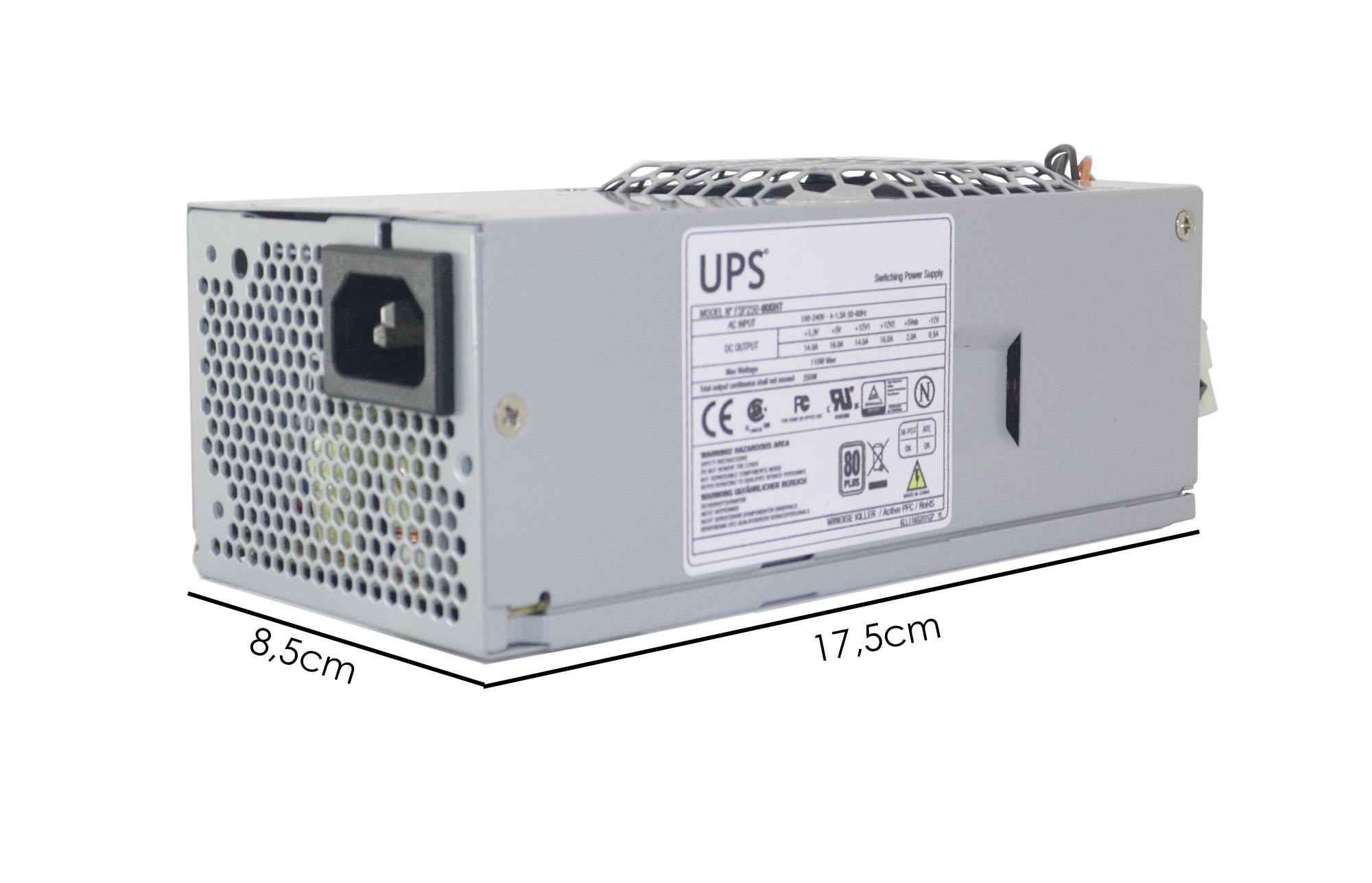 Fonte Slim P/ Lenovo Thinkcentre M70e M76 M91 M81 M71 M91p