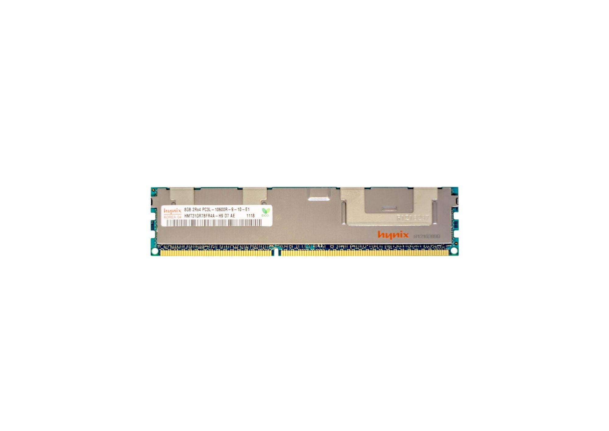 Memória 8gb Ecc Pc3l-10600r Hp Storageworks - X1800 G2 Nas
