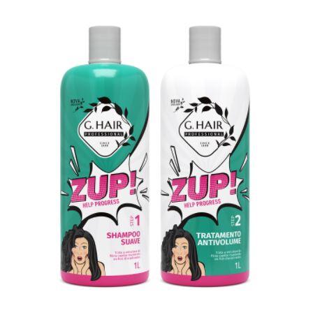 G-Hair Kit Escova Progressiva Zup Help Progress 2x1Litro