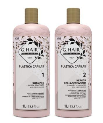 Ghair Plástica Capilar 2x1 litro - Ghair Cosmeticos - G.Hair