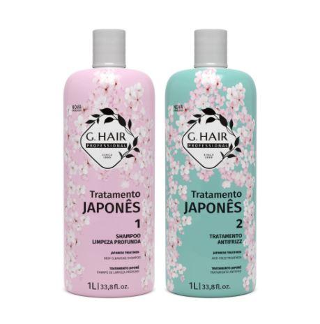 Ghair Tratamento Japonês Progressiva Japonesa Kit 2x1Litro