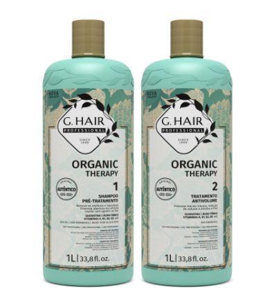 Kit EScova Progressiva Organic Therapy Ghair 2x1L