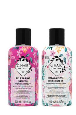 Kit G.hair Relaxa Fios Shampoo + Condicionador 2x300ml