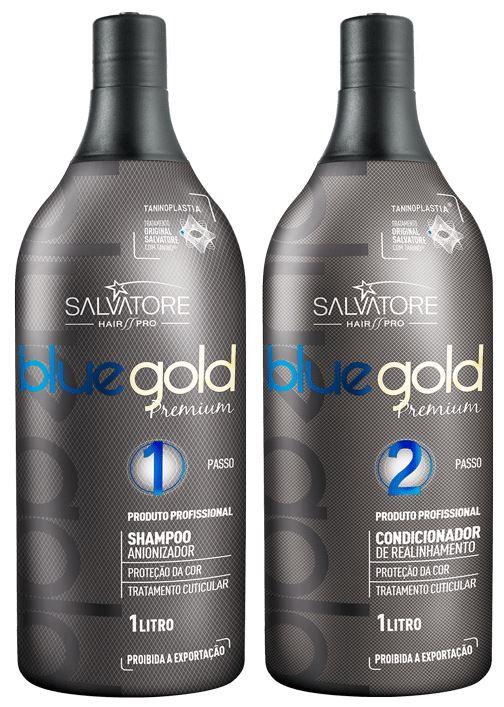 Salvatore Blue Gold Premium Taninoplastia 2x1000ml