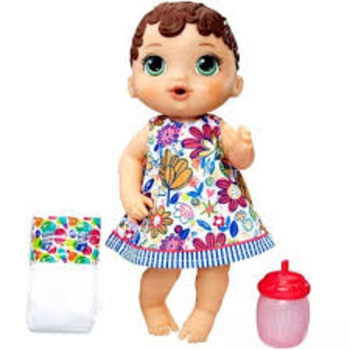 Baby Alive Hasbro Hora Do Xixi- Morena