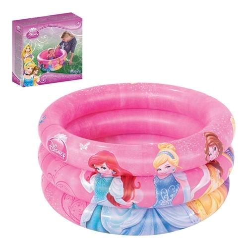 Banheira Inflável Mor Infantil 38L Princesas Disney