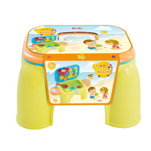 Banquinho Infantil BelBrink Praia - Amarelo