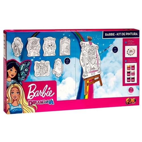 Barbie Dreamtopia Fun Kit de Pintura Brinquedo Educativo