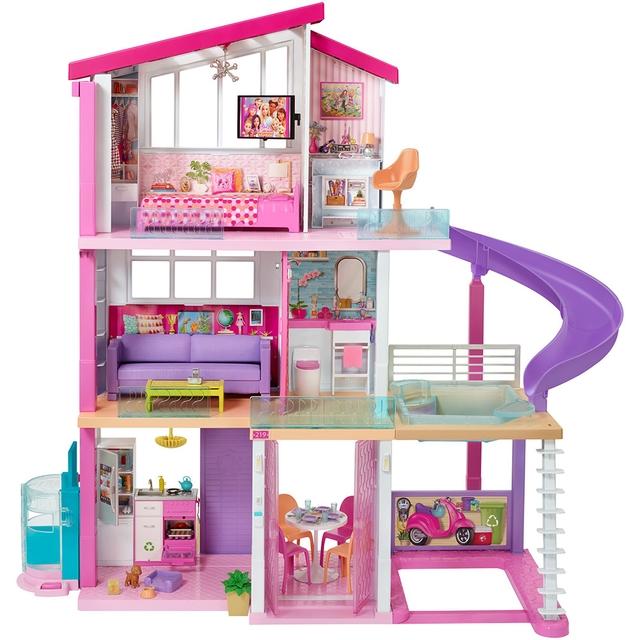 Barbie Mattel Casa dos Sonhos Rosa