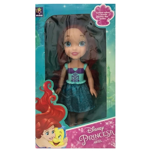 Boneca Ariel Mimo 30 cm Princesas Disney Clássica