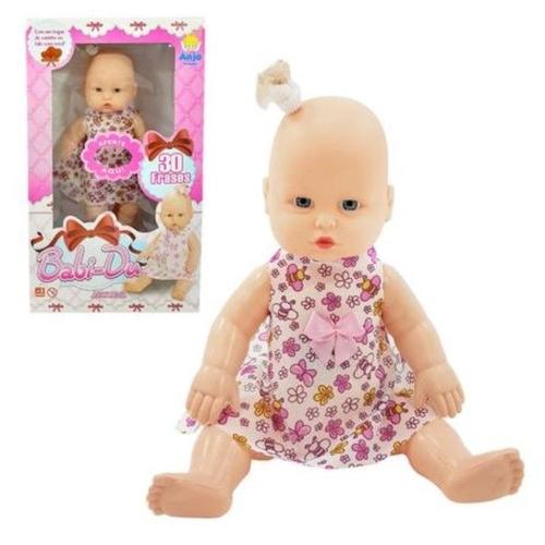 Boneca Babi Du Anjo Brinquedos 30 frases