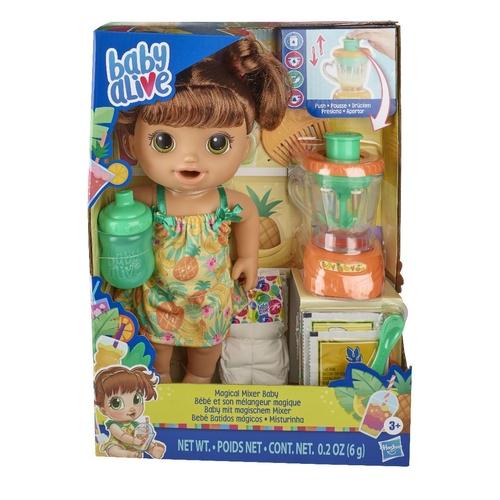 Boneca Baby Alive Hasbro Misturinha- Morena