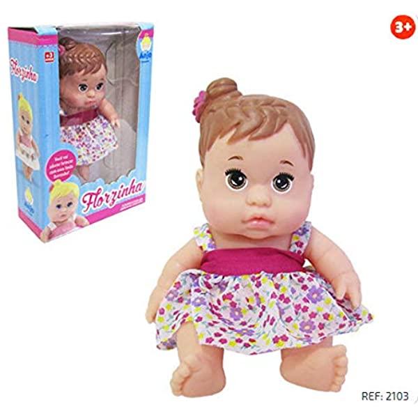 Boneca Florzinha Anjo Morena