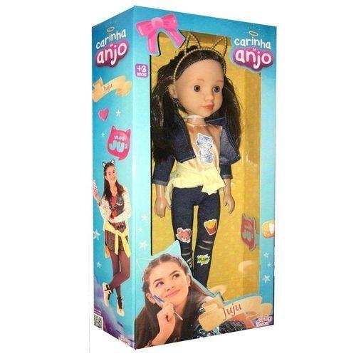 Boneca Juju Baby Brink Carinha de Anjo