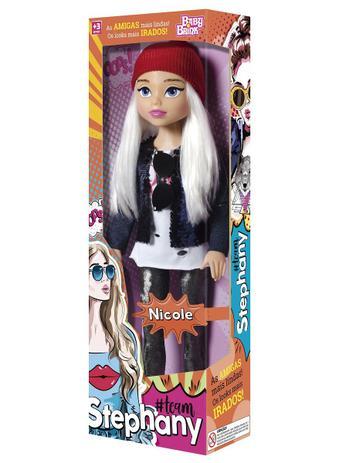 Boneca Team Stephany BabyBrink- Nicole