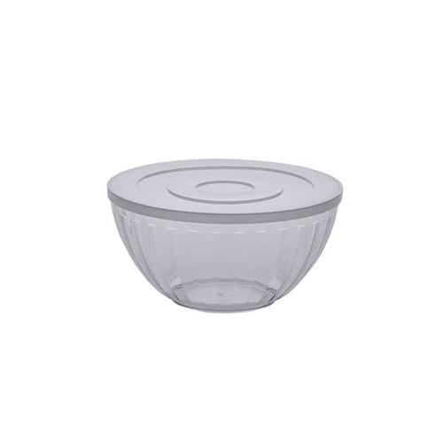 Bowl 1,8 Litros Canelatta Cristal  Paramount - Cristal Com Tampa