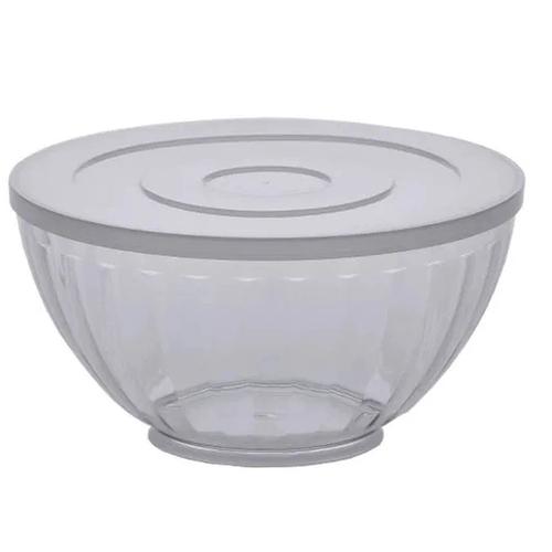 Bowl 3,6 L Canelatta Cristal - Paramount -Cristal Com Tampa