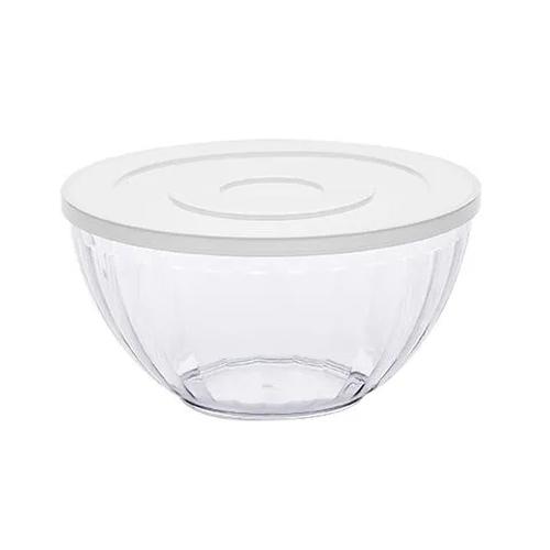 Bowl 4,8 Litros Canelatta Cristal Paramount Cristal Com Tampa