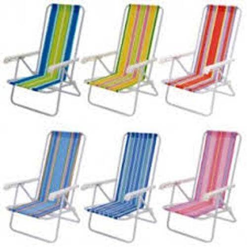 Cadeira Reclinavel Mor 4 posições alumínio