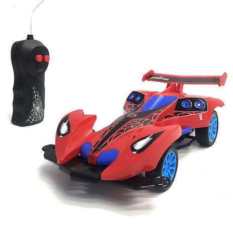 Carrinho Homem Aranha Marvel - Spider Machine - Controle Remoto