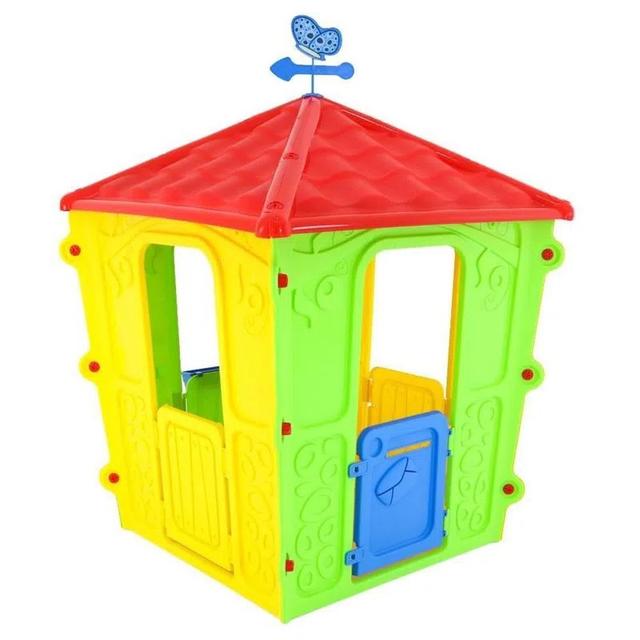 Casinha de Brinquedo BelBrink Catavento Infantil Colorido