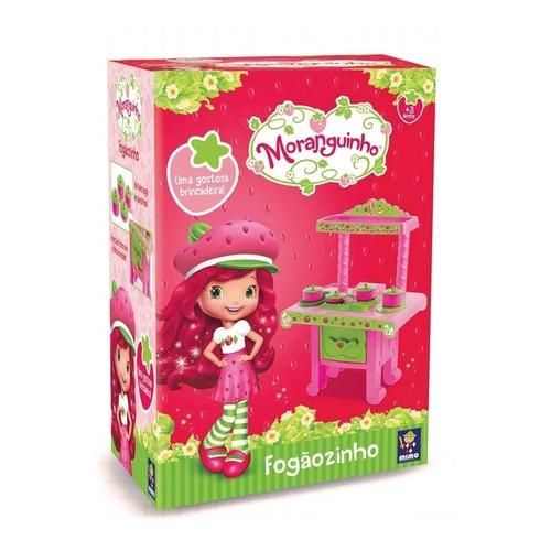 Cozinha Encantada da Moranguinho Mimo Toys -FOGÃOZINHO