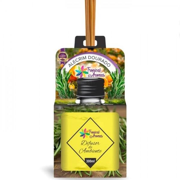 Difusor de Aromas Alecrim Dourado Tropical Aromas 300 ml