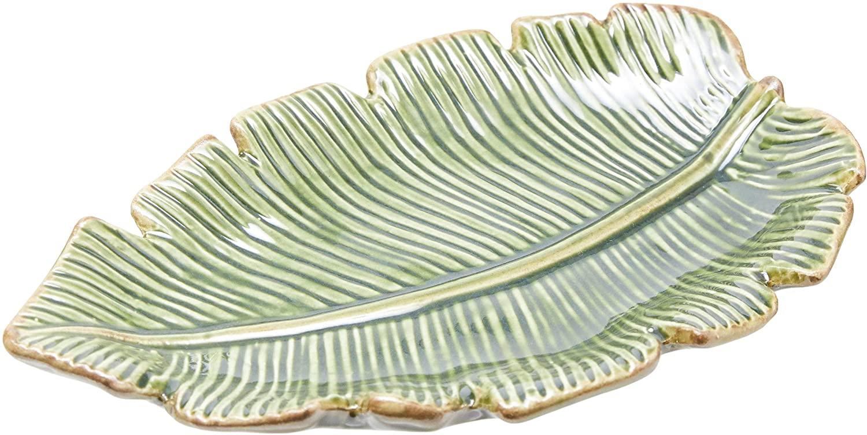 Folha Decorativa Cerâmica Banana- Lyor Verde Cerâmica