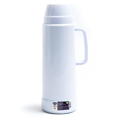 Garrafa Térmica Use 1 Litro- Mor Branco