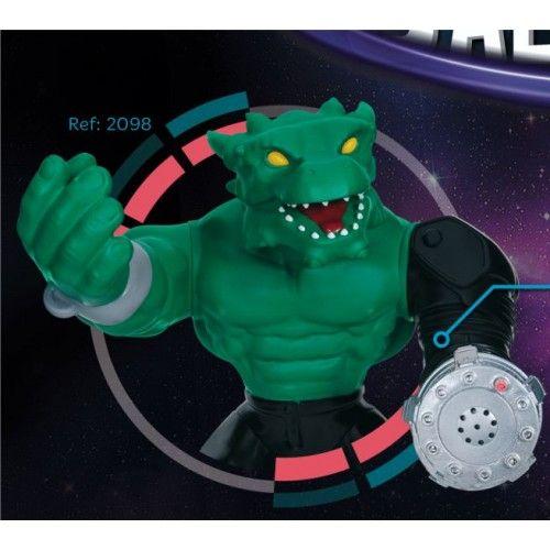 Heróis da Galaxia Dragão Cotiplás verde