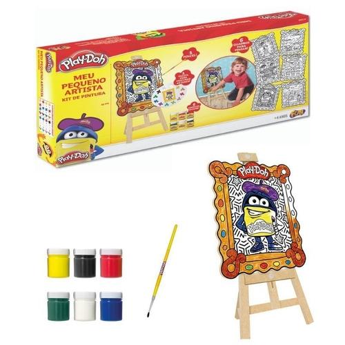 Kit de Artes - Play-Doh - Meu Pequeno Artista - Fun - 80059