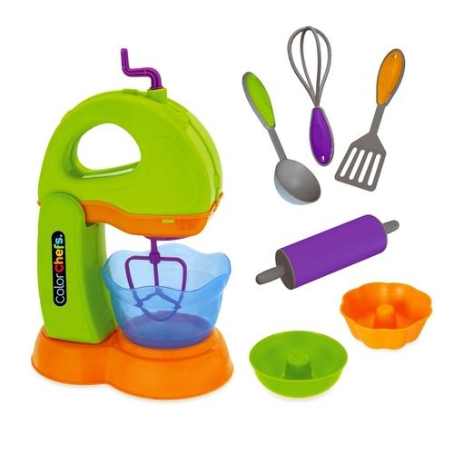 Kit de Batedeira Usual Brinquedos Color Chefs com Acessórios