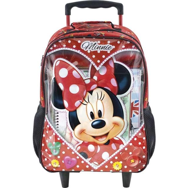 Kit Escolar Xeryus Minnie Mouse Love Mochila + Lancheira