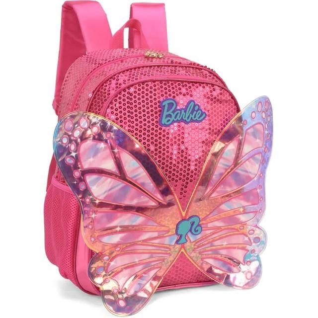 Kit Mochila + Lancheira+ Estojo Barbie Pink