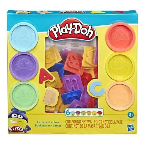 Massinha Play Doh Letras Hasbro Modelar