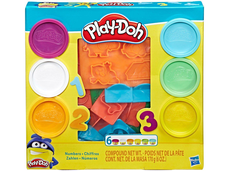 Massinha Play Doh Números Hasbro Modelar