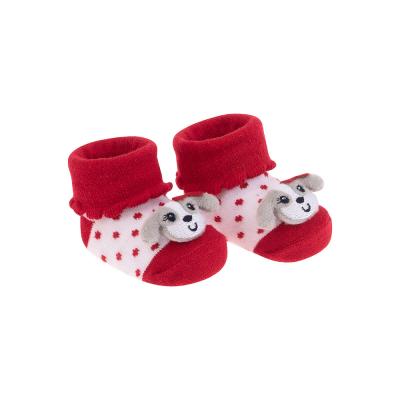 Meia Bichinho  - Cachorrinha Pimpolho Vermelha