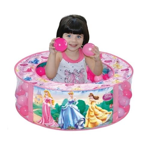 Piscina de bolinhas Princesa Disney Lider Rosa