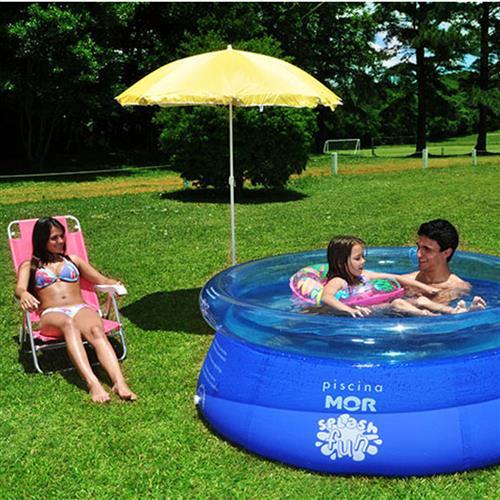 Piscina Inflável Splash Fun Mor 1000L
