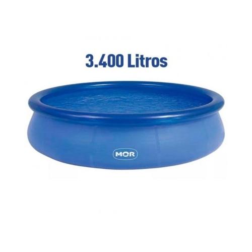 Piscina Redonda Inflável Splash Fun Mor 3400L