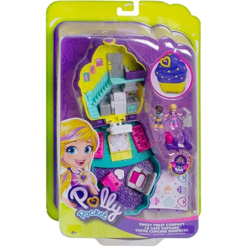 Polly Mini Mundo de Aventura - Mattel Cores Variadas